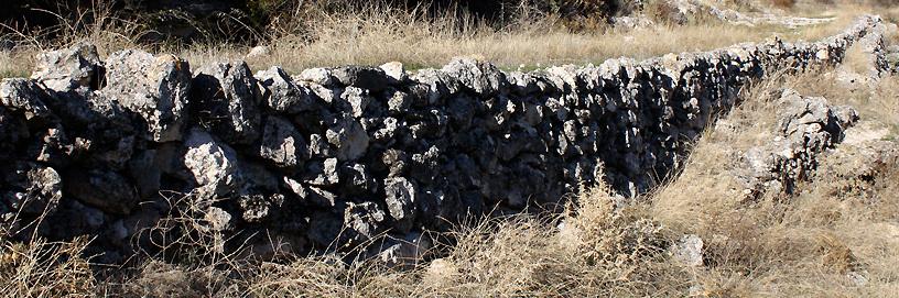 Stone over stone. Argecilla, Guadalajara.