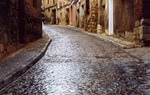 Streets of Daroca, a medieval town of two thousand inhabitants, in the province of Zaragoza / Ramón Sanz Frax.