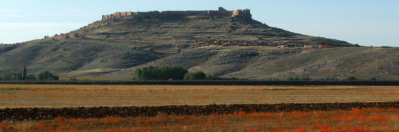 Gormaz Castle, Soria.