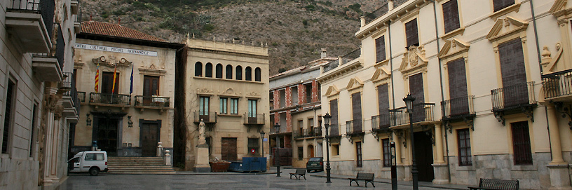 Orihuela is declared Historical Artistic Site.