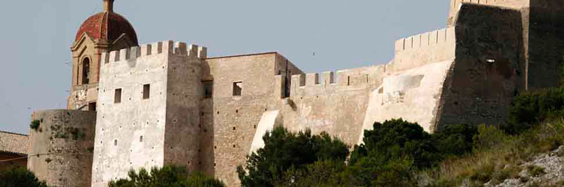 Castle of Cullera, Valencia.