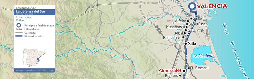 Cabecera mapa Motor Defensa del Sur