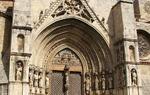 Gate of the Church Santa María la Mayor in Morella, Castellón / ALC.
