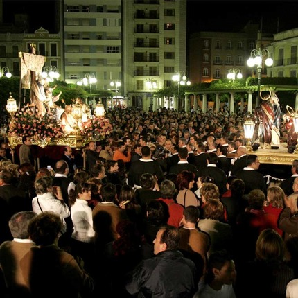 Easter Week in Alzira, Valencia. Festivity of National Tourist Interest
