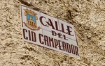 There are a lot of streets with the name of El Cid along the Way / ALC.