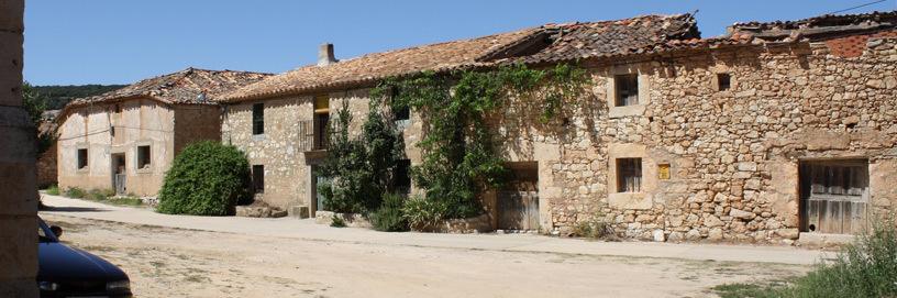 Street of Abanco, Soria.