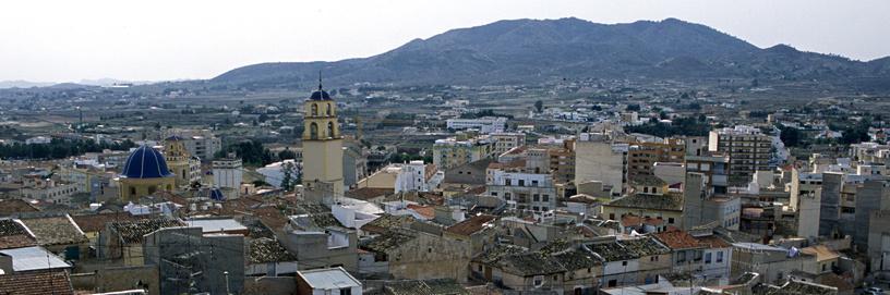 Monóvar, Alicante. Diputación de Alicante.