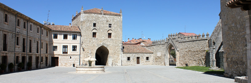 Monastery of Las Huelgas square.