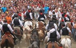 The village of Segorbe, province of Castellón, celebrates during the second week of September the Bulls and Horses Entrance, Fiesta of International Tourist Interest / Juan Francisco Bascón.