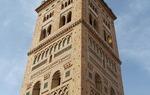 Mudejar Tower of Saint Martin in the town of Teruel, declared World Heritage Site by the UNESCO / ALC.