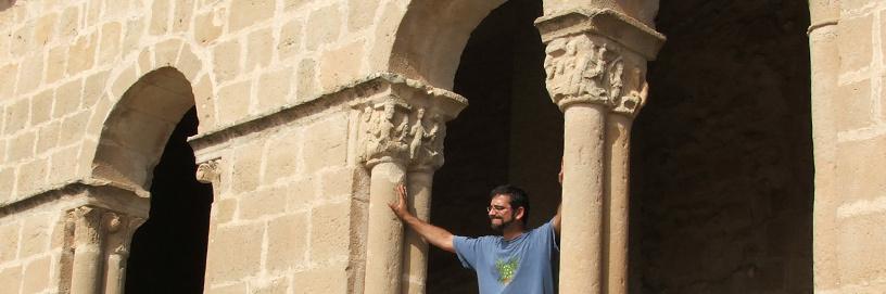 Romanesque portal in Pinilla de Jadraque, Guadalajara.