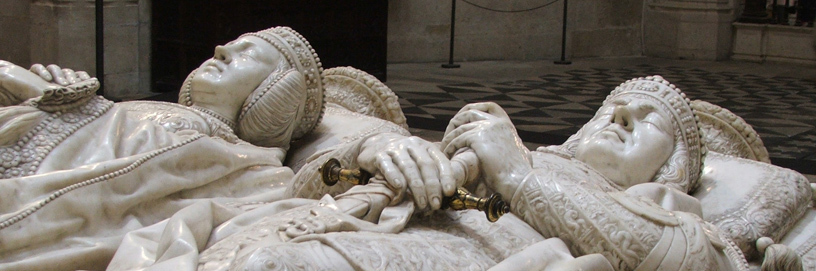 Detail of the Constables tomb, cathedral of Burgos.