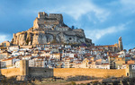 Morella, province of Castellón. In 1083 El Cid attacked Morella Castle, although he was forced to retreat / Diputación de Castellón.