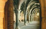 Converts Refectory in the Monastery of Santa María de Huerta, province of Soria / Juan Antón Oliva.