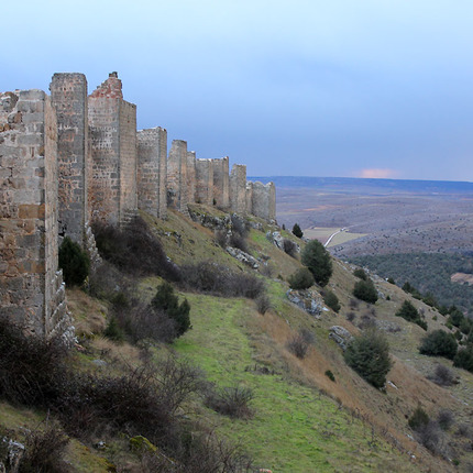 The caliphal fortress of Gormaz, province of Soria / ALC.