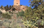 Watchtower in Almenara, province of Castellón. El Cid conquered the castle in 1098 / ALC.