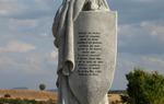 El Cid´s statue at Mecerreyes, province of Burgos / ALC.