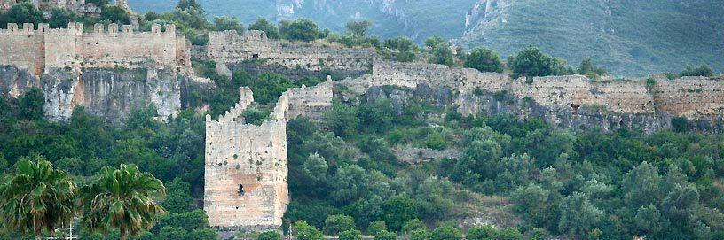 Castle of Corbera, Valencia.