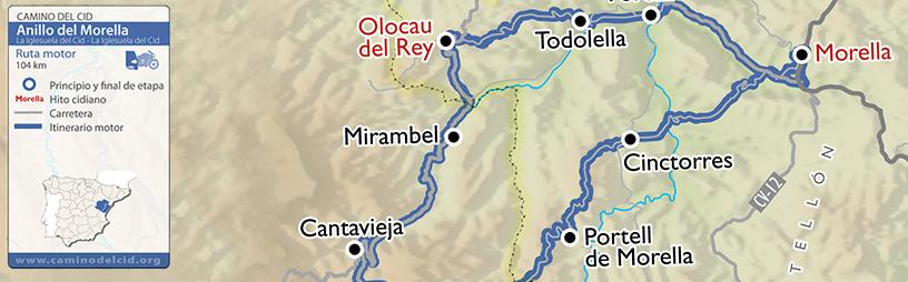 Cabecera mapa Motor Anillo-de-Morella