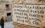 According to the Song of el Cid, around Castillejo de Robledo -Soria- Cid's daughters were brutally beat and leave to their fate by their husbands  / ALC