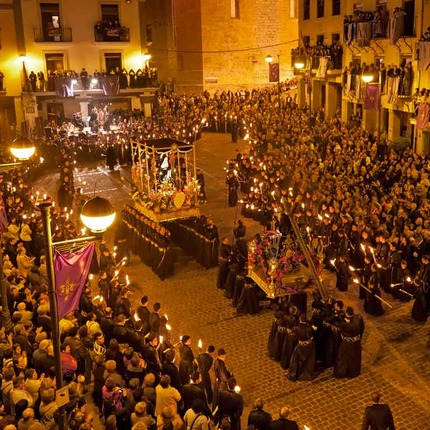 Easter Week in Sagunto, Valencia. Festivity of National Tourist Interest