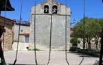 Empty swings in Escalera, province of Guadalajara / ALC.