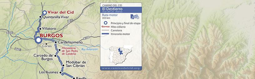 Cabecera mapa Motor El Destierro