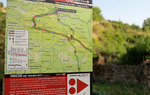 Explanatory panels at the start of each MTB detour / ALC.
